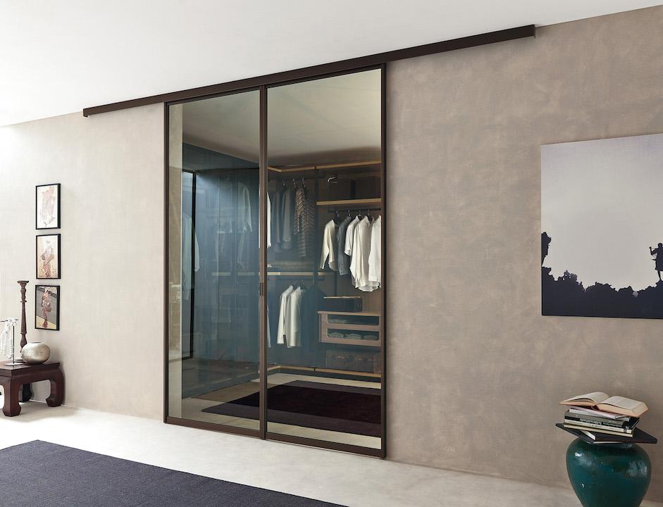 Kali la cabina armadio per ogni esigenza di spazio - Porte scorrevoli per cabine armadio ...
