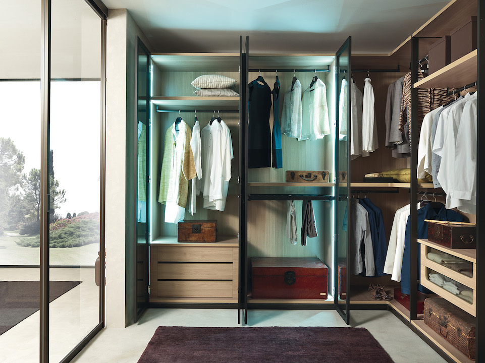 Kali la cabina armadio per ogni esigenza di spazio - Cassettiere per cabine armadio ...