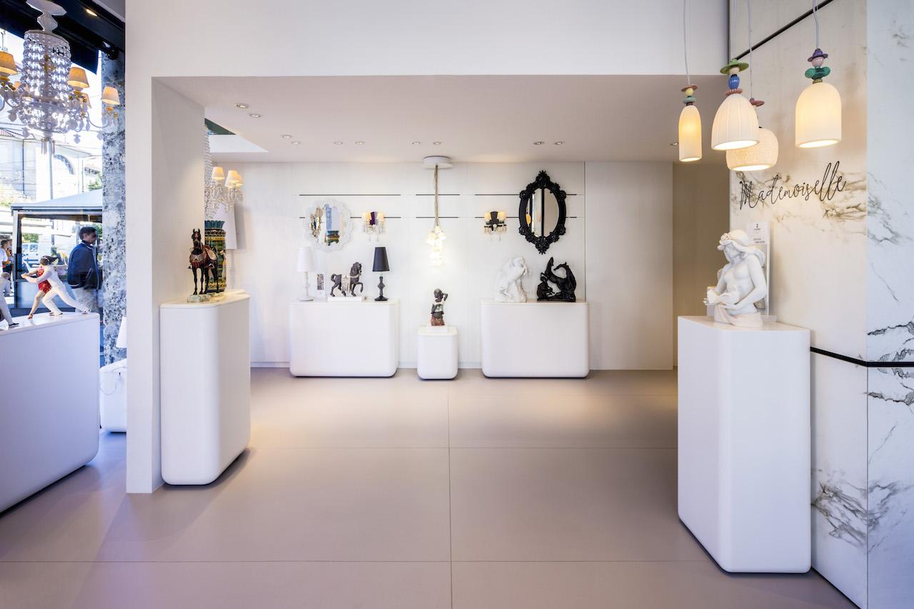 Inaugurato a milano il nuovo showroom lladr e cosentino for Cosentino arredamenti