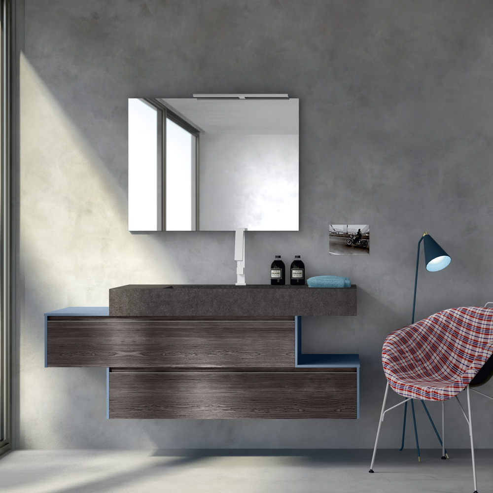 Change i mobili da bagno modulari dalle infinite composizioni for Mobili arredo