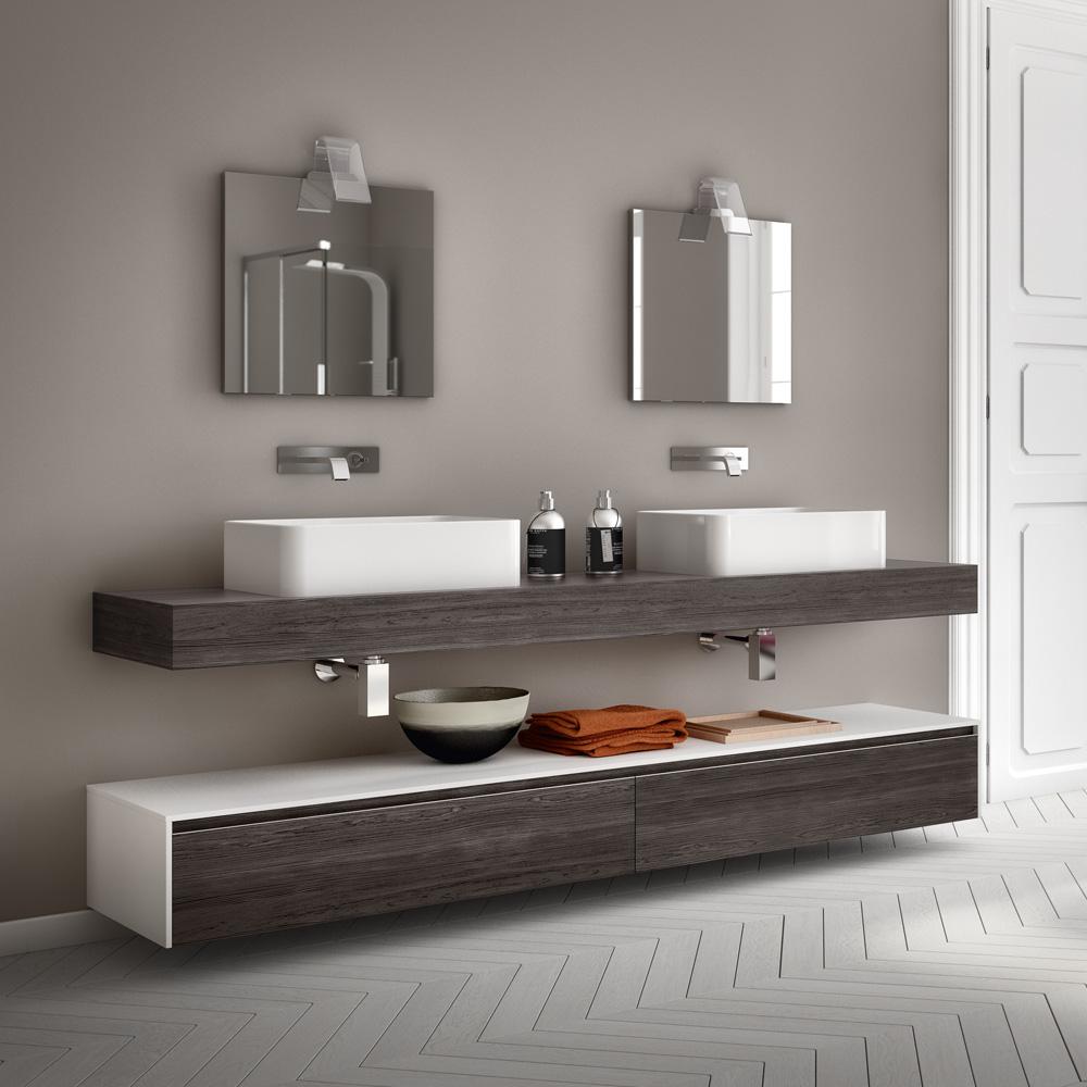 Change i mobili da bagno modulari dalle infinite composizioni for Mobile da bagno