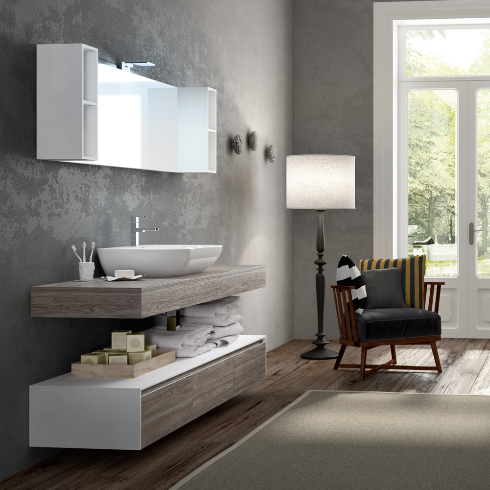 Change: i mobili da bagno modulari dalle infinite composizioni