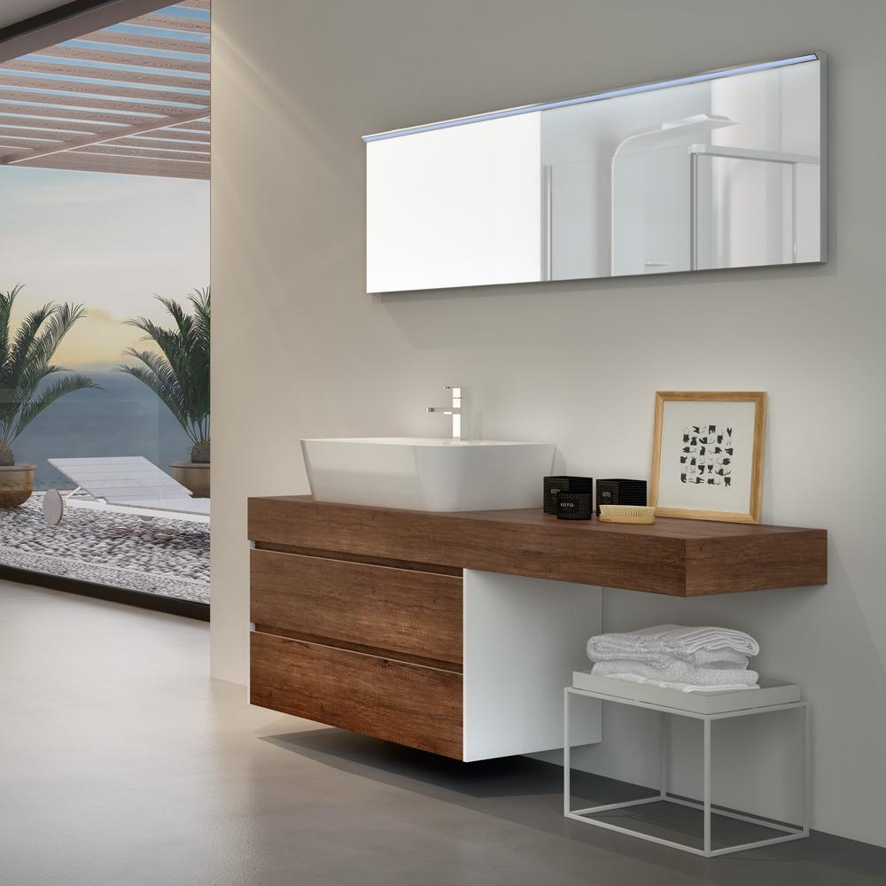 Change i mobili da bagno modulari dalle infinite composizioni for Grande arredo mobili bari