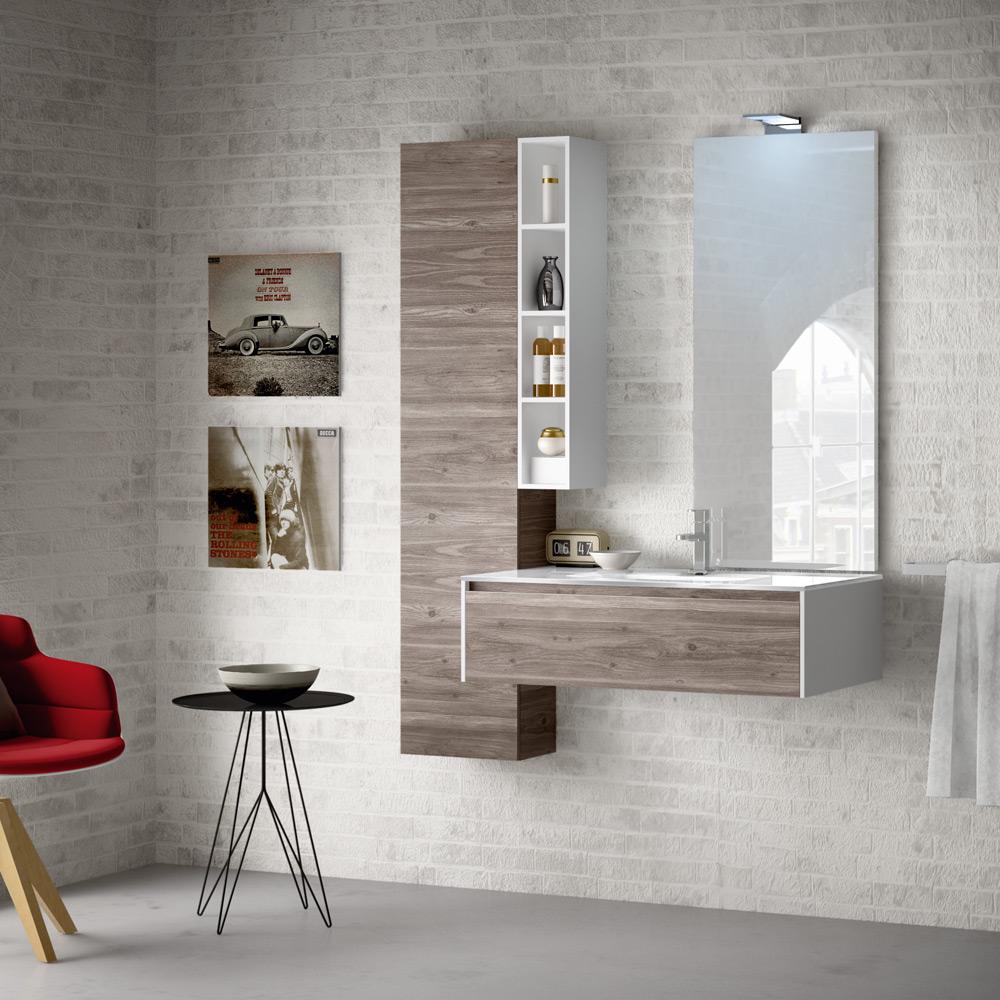Change i mobili da bagno modulari dalle infinite composizioni - Immagini arredo bagno ...