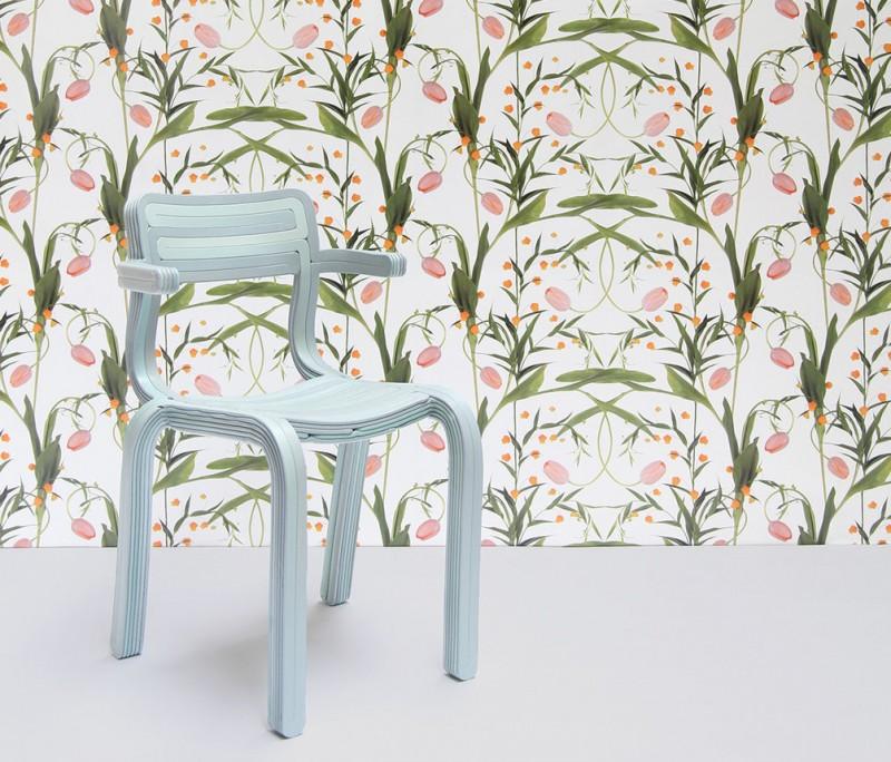 la sedia stampata in 3d di Dirk Van der Koij