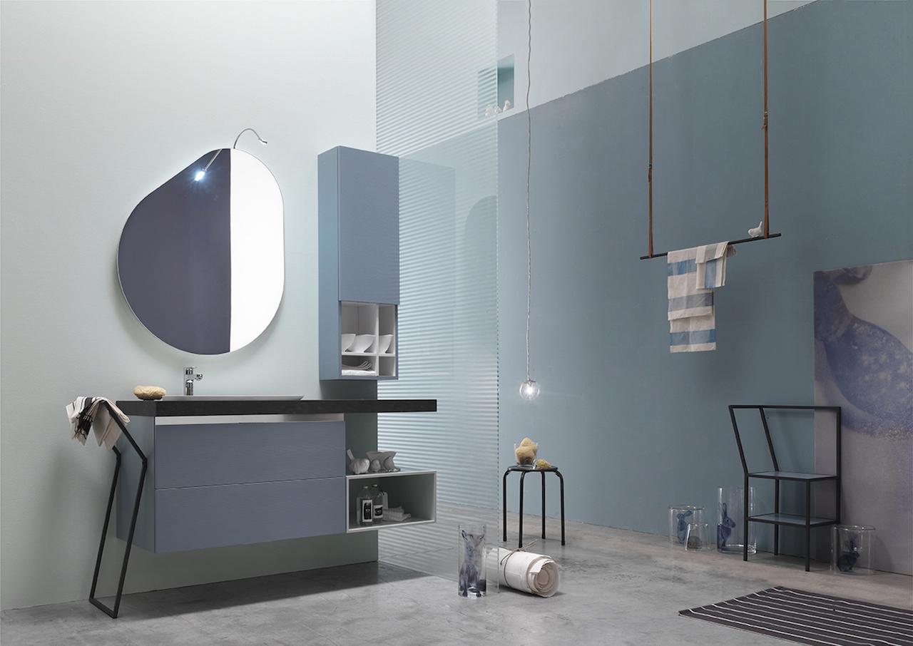Da arcom un bagno in legno laccato in 50 colori - Arcom mobili bagno ...
