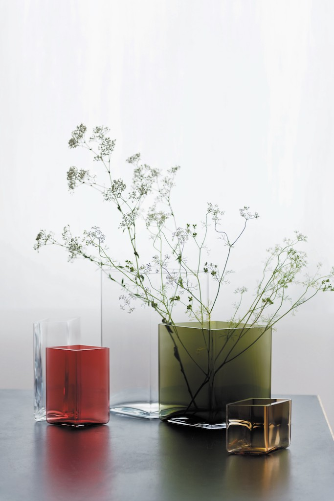 Ruutu glass vases. Bouroullec for iittala