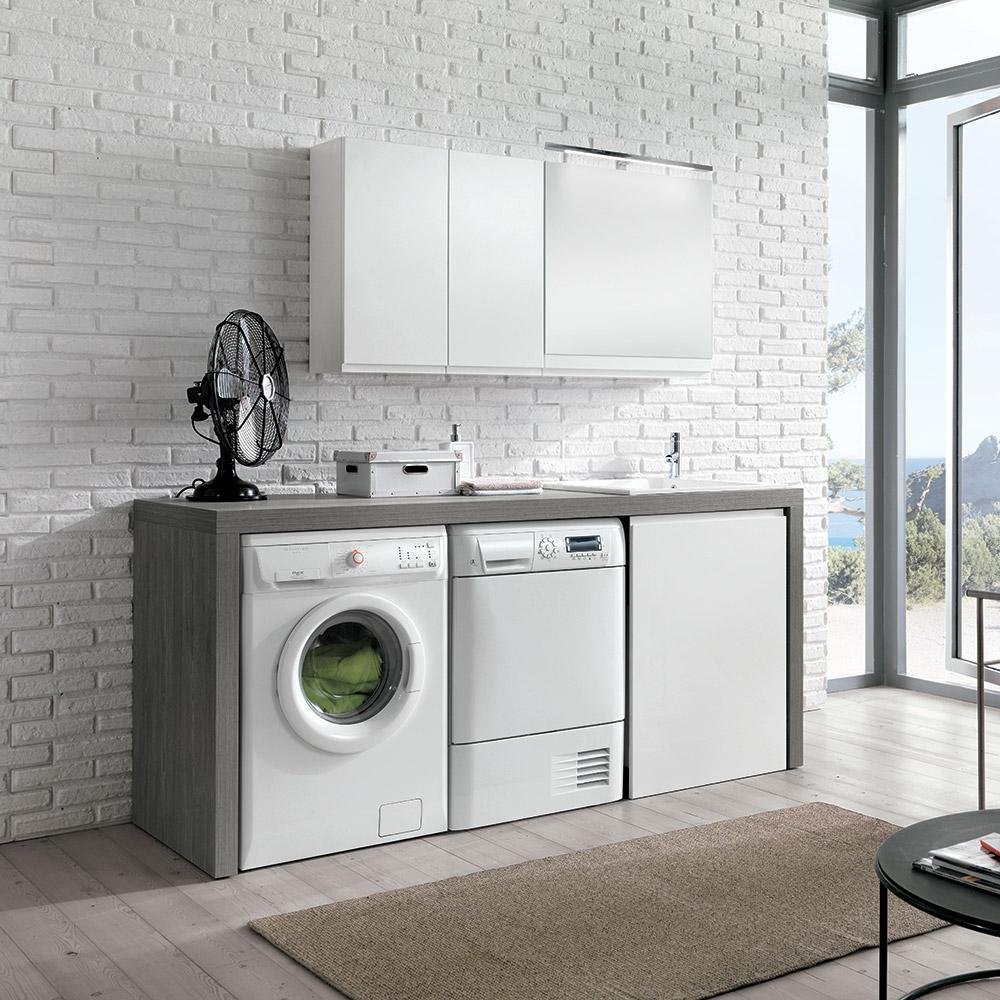 Come creare uno spazio lavanderia organizzato in casa for Arredo per lavanderia di casa
