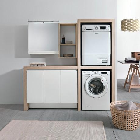 Come creare uno spazio lavanderia organizzato in casa - Mobili per lavanderia domestica ...