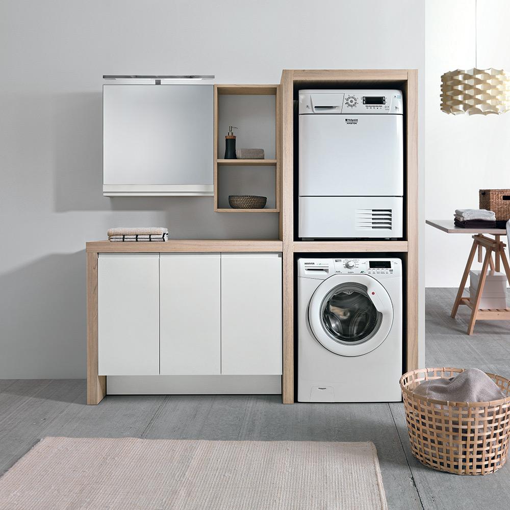 Come creare uno spazio lavanderia organizzato in casa - Ikea lavanderia mobili ...
