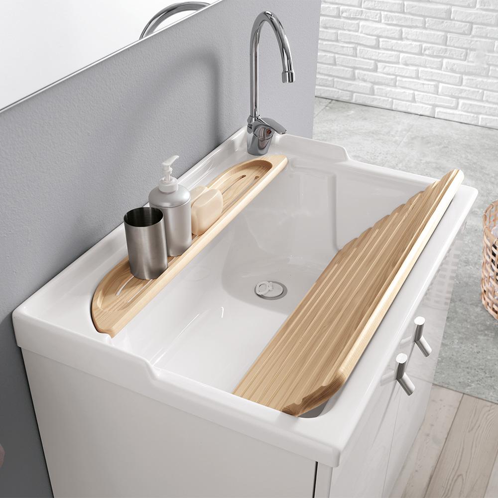 Lavatoio Ceramica Per Lavanderia.Come Creare Uno Spazio Lavanderia Organizzato In Casa