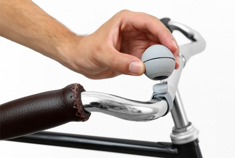 il campanello magnetico per la bicicletta