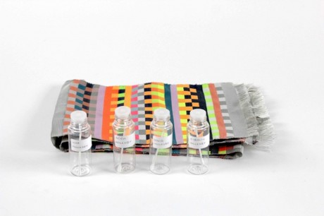 Dot One: DNA scarf by Iona Inglesby