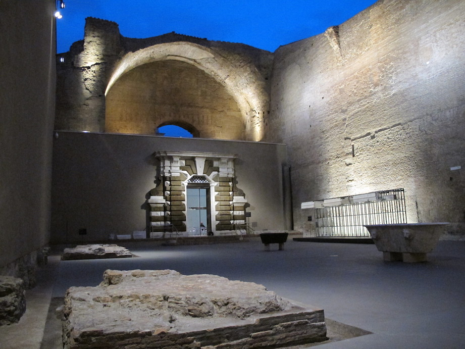 lighting design event in Rom