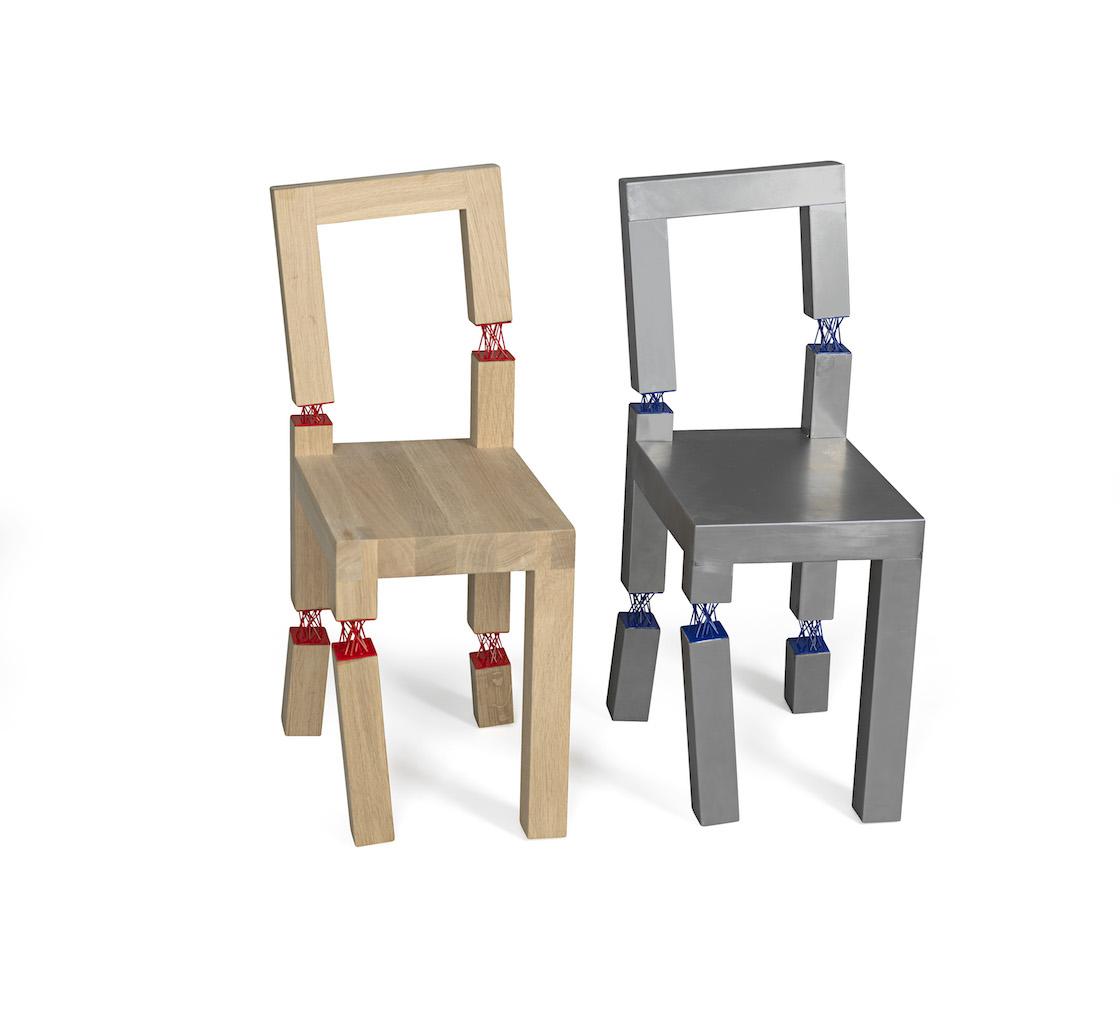 Il design nordico si diverte a giocare con le sedie for Sedia design svedese