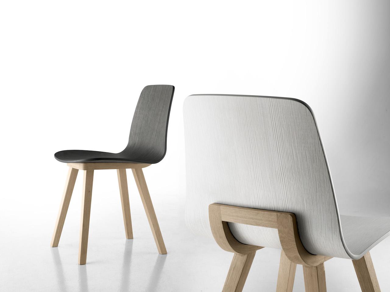 Kuskoa la sedia perfetta con la seduta biodegradabile for Sedia scandinava