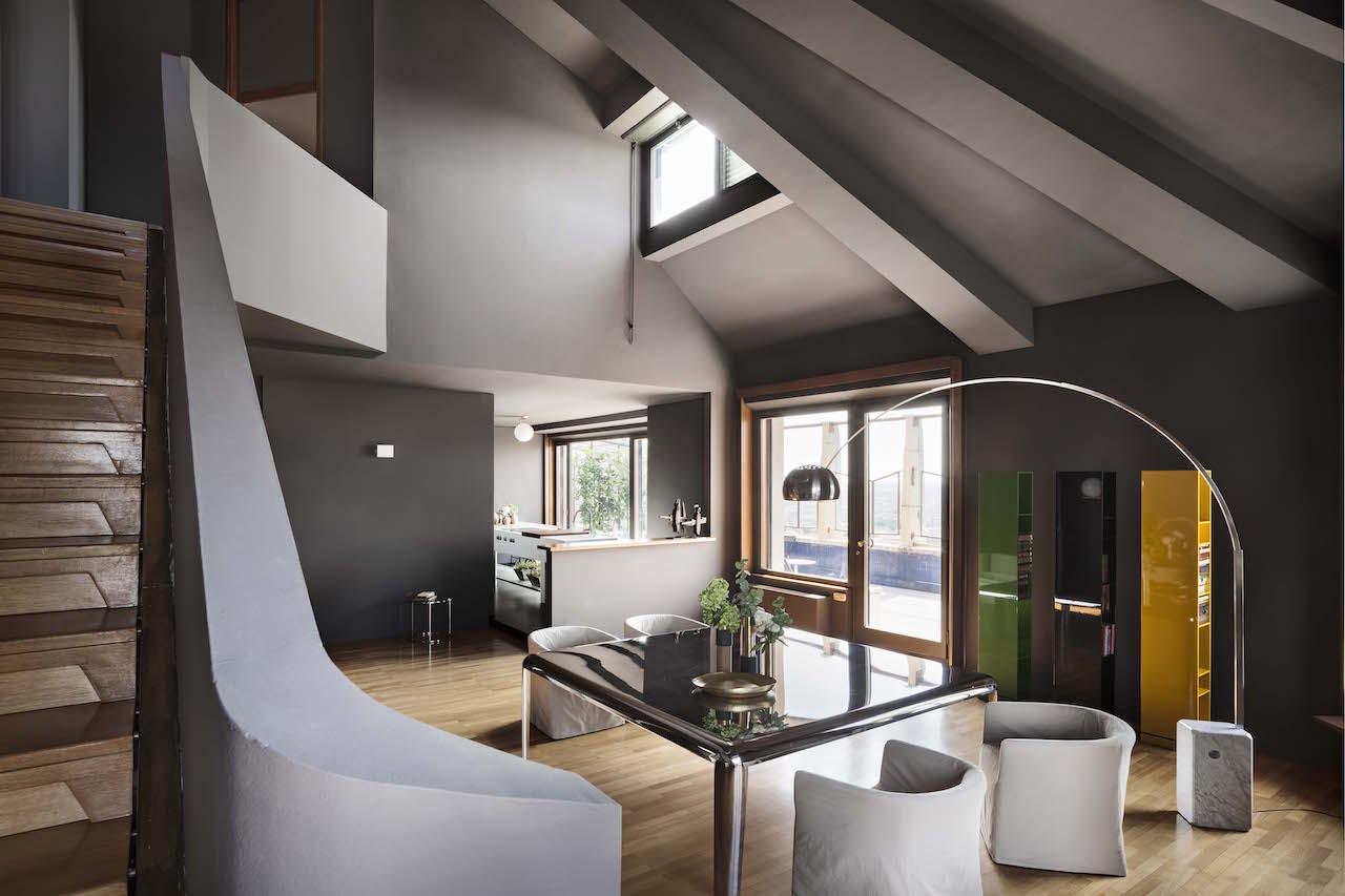 L 39 attico della torre velasca con la sua terrazza panoramica for Terrazza design
