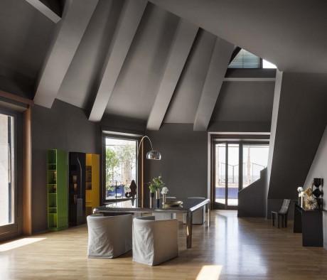 L'attico della Torre Velasca