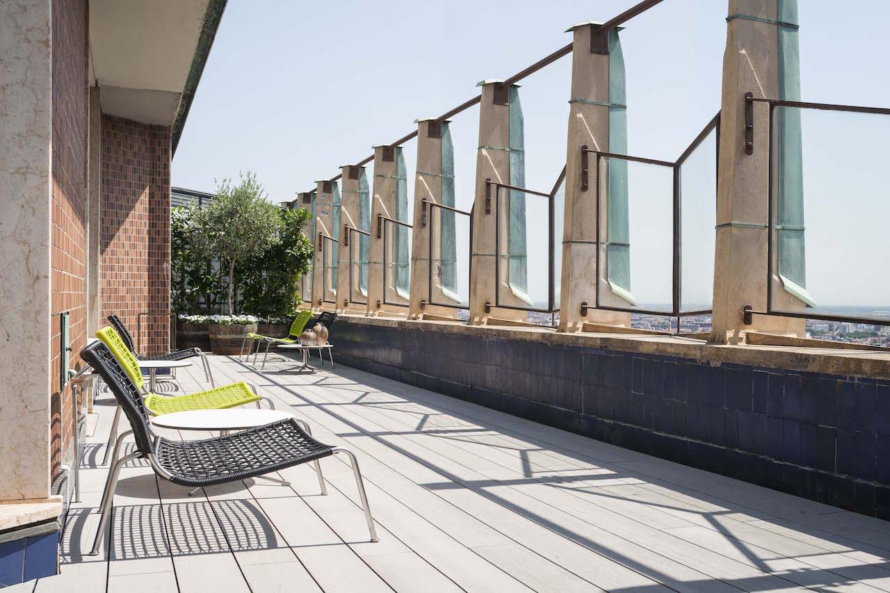 l 39 attico della torre velasca con la sua terrazza panoramica