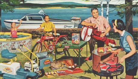 vintage america plastic chair