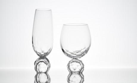 oggetti di design in vetro e ceramica