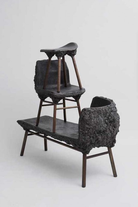 WELL PROVEN CHAIR, la sedia ecosostenibile fatta con gli scarti del legno mescolati con la bioresina