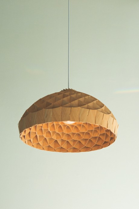 Nest lamp by Copper