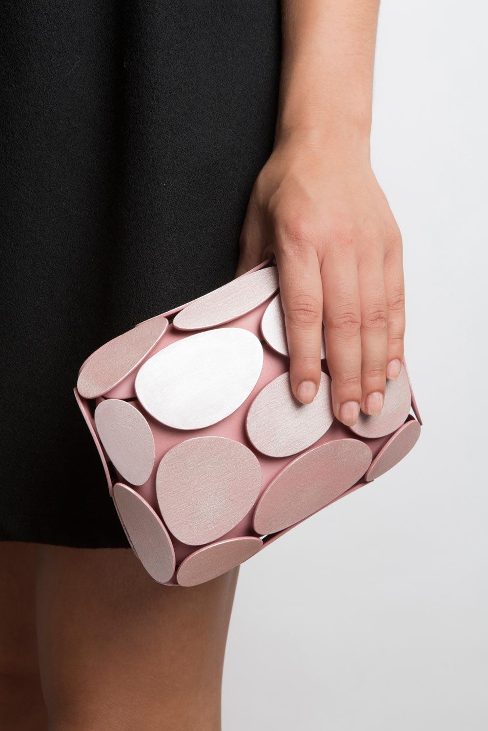 3D fashion: la clutch stampata in 3d. Design Odo Fioravanti