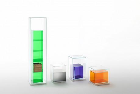 BOX INBOX :Philippe Starck for Glass Italia