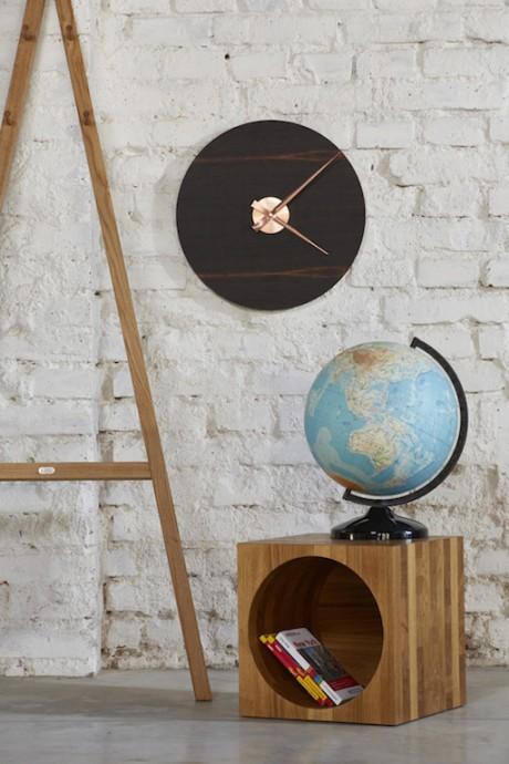 Kolo Clocks: gli orologi da parete in legno by Lugi