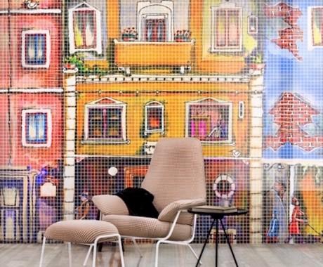 Il mosaico in resina per personalizzare le pareti
