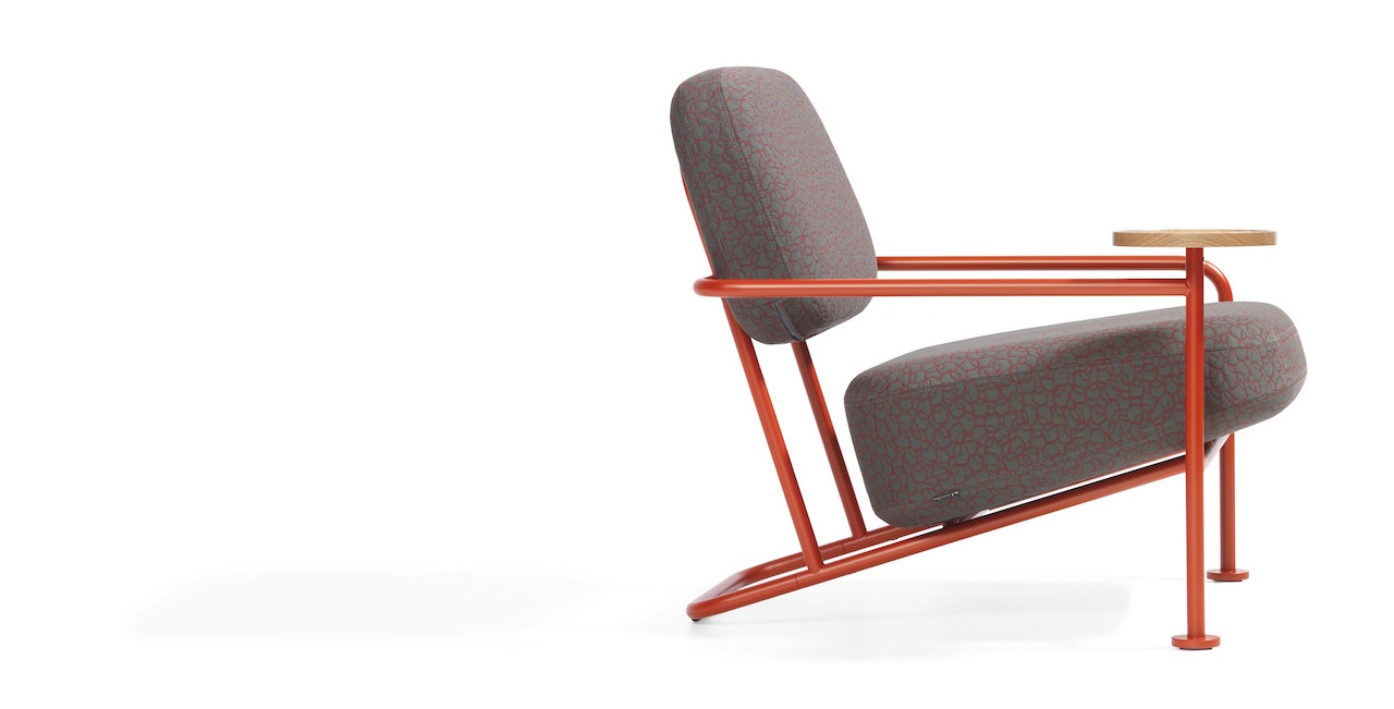 Ahus easy chair by Bla Station