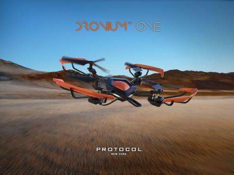 Dronium One il drone italiano a pentagono