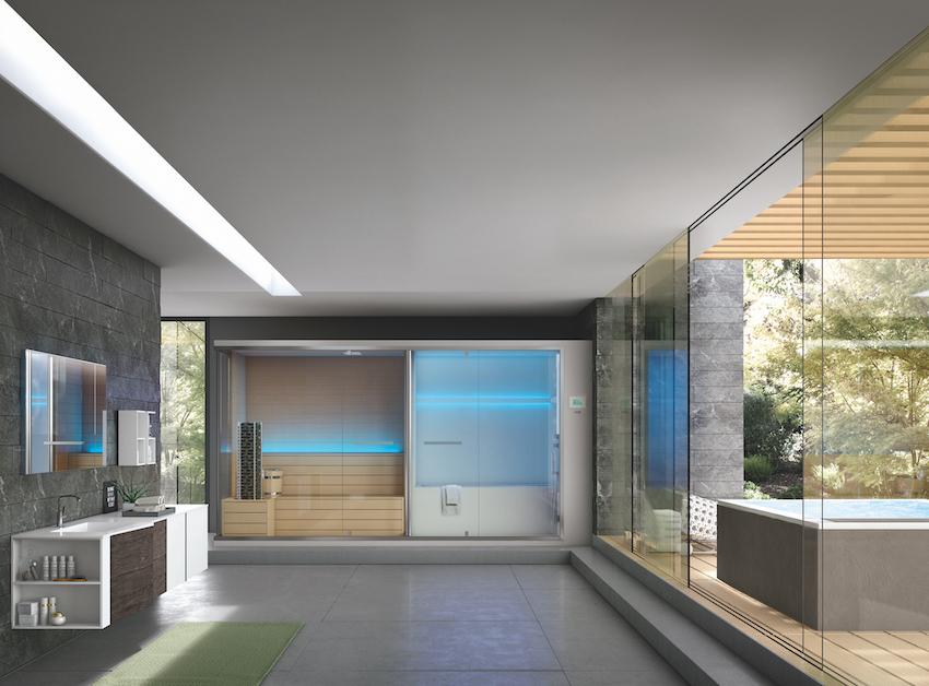 Una spa domestica poco ingombrante e facile da installare design street for Costruire una sauna in casa
