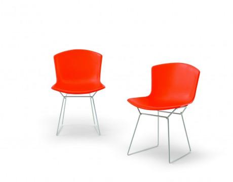 Knoll celebra con 2 nuove sedie i 100 anni di harry bertoia for Sedie design knoll