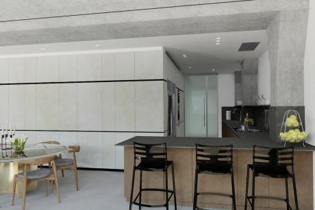La casa dove ha lo studio Victoria Beckham