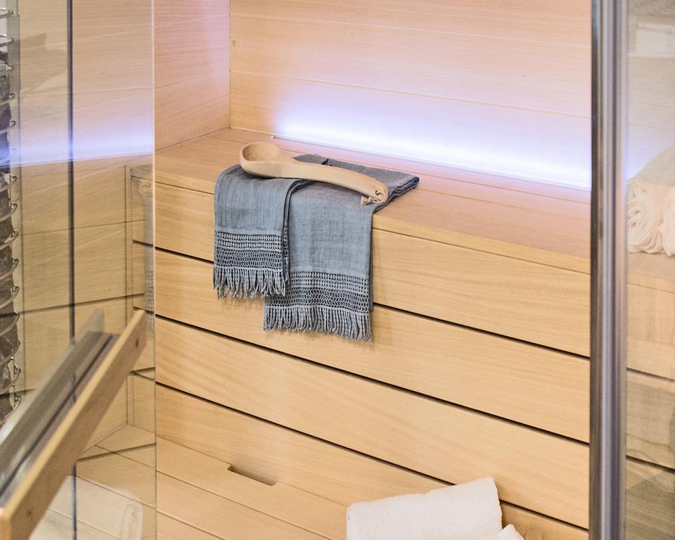 Una spa domestica poco ingombrante e facile da installare design