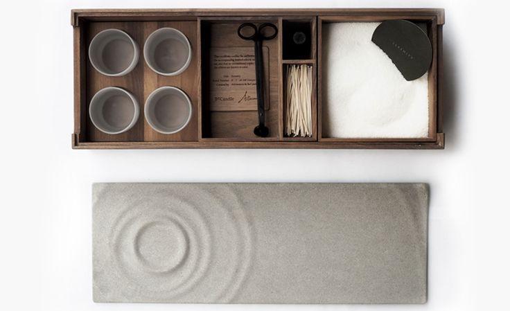 Serenity Candle Box: il portandele Zen