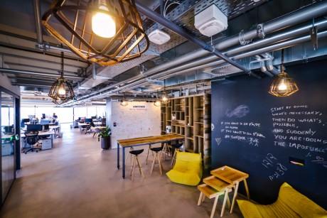I nuovi uffici di Facebook a Tel Aviv