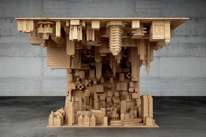Wave city, il tavolo 3D
