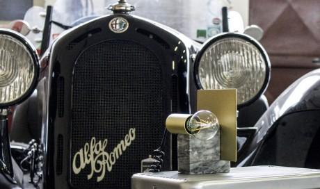 Gran Turismo, la lampada ispirata all'Alfa Romeo