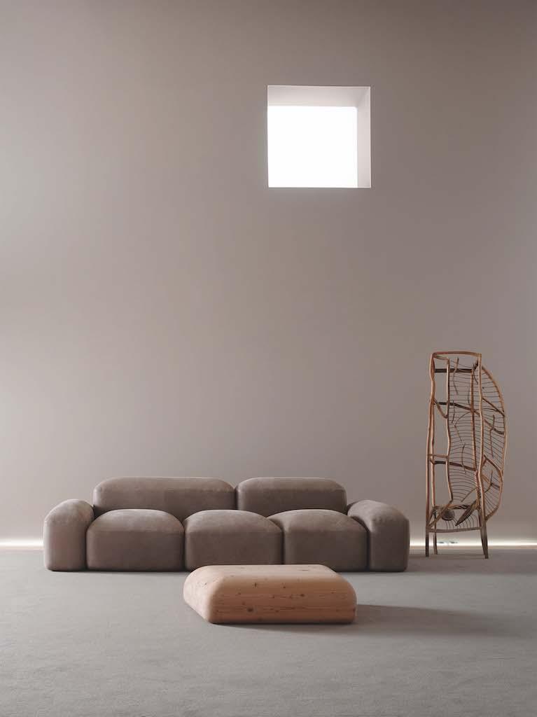 Lapis il divano componibile ispirato alle vie romane - Divano ecopelle che si spella ...