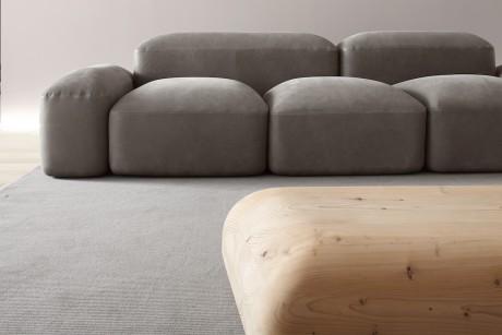 Lapis, il divano ispirato alle strade romane antiche