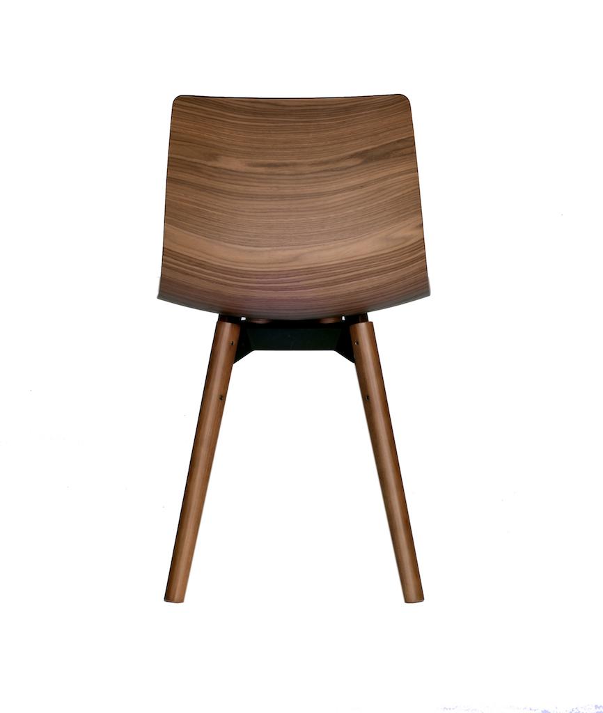 Loku la sedia in legno curvato e pressato for Sedia design 2016