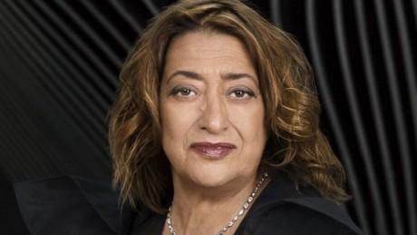 E' morta Zaha Hadid
