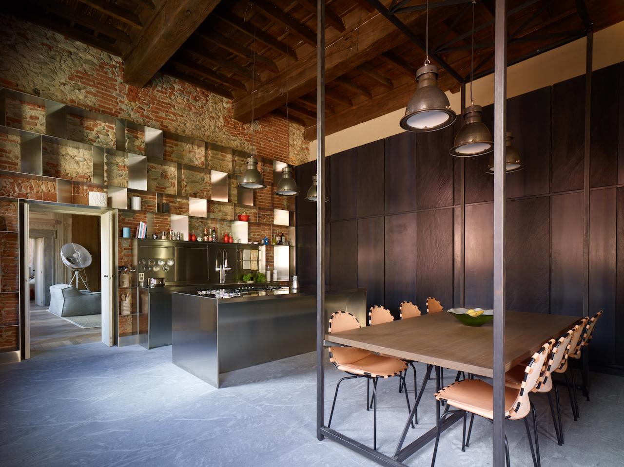 Da abimis una cucina industriale pensata per la casa - Cucine stile industriale ...