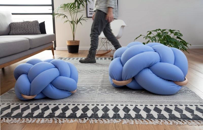 cuscini intrecciati