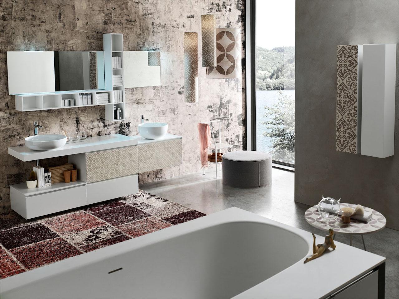 Un bagno personalizzato con La Fenice Decor di Arcom