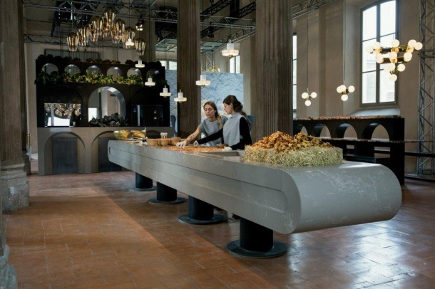 Tom Dixon: The-Restaurant a Milano