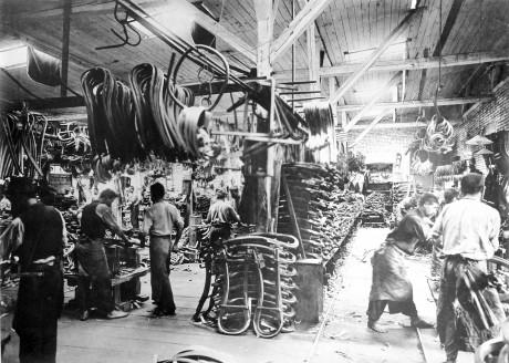 Thonet fabbrica
